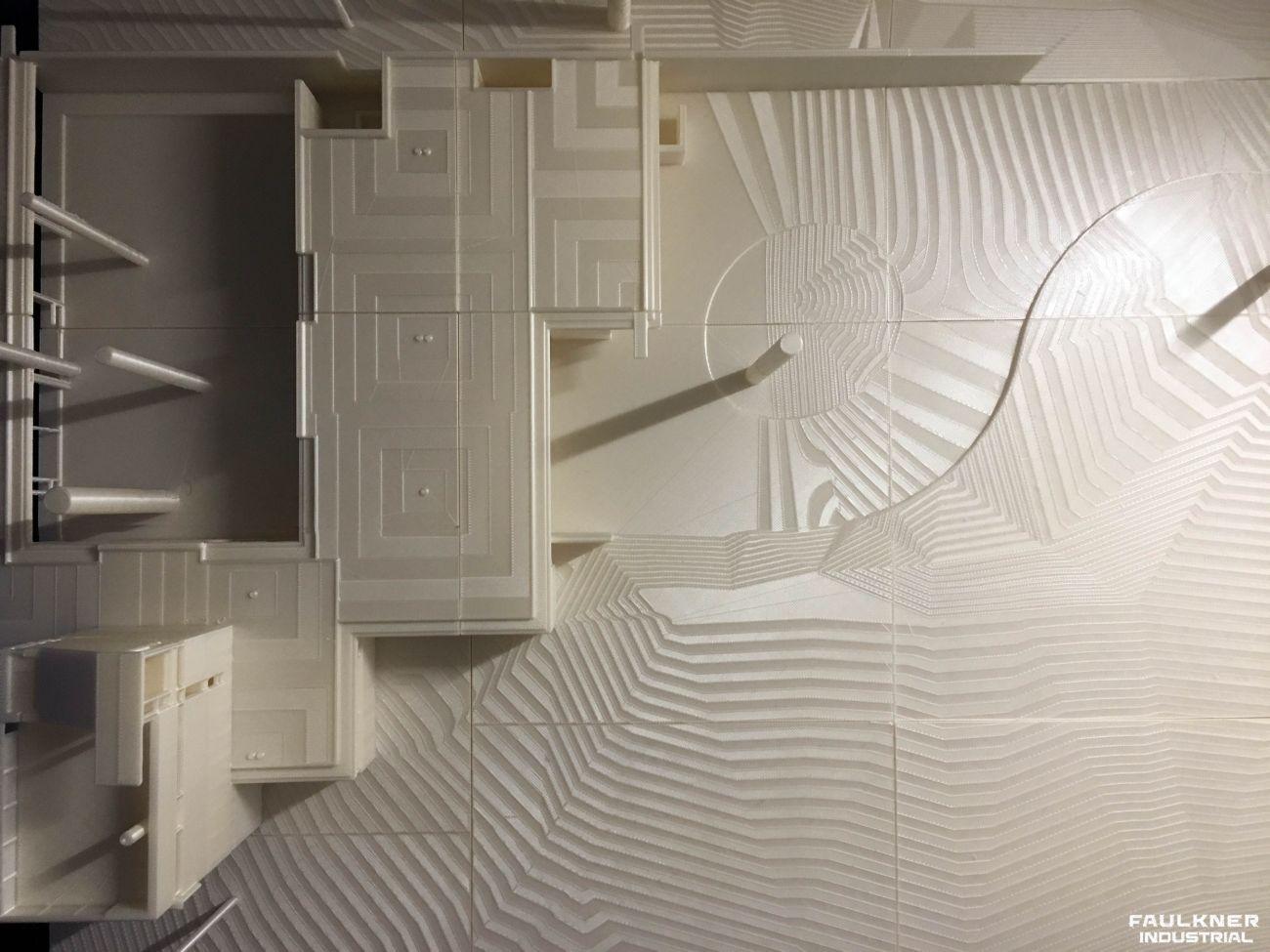 3D printad modell uppifrån