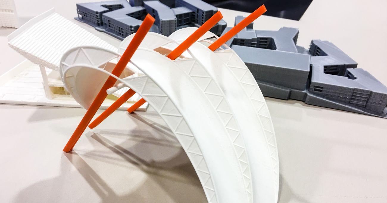 3D printad modell